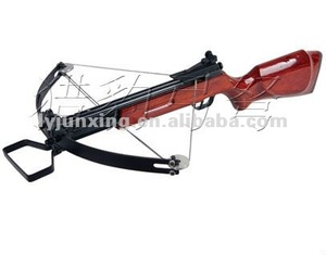 M27 wooden stock and steel limb portable crossbow