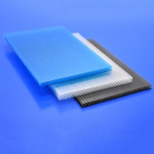 Clear pc polycarbonate honeycomb plastic sheet for decorative ceiling plates