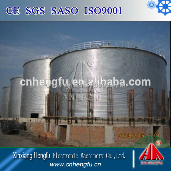 High Quality Metal Assembly Silo Project For Grain/Poultry Storage