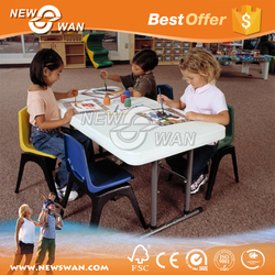 Cheap Folding picnic table child/tables chair sets/ round tables