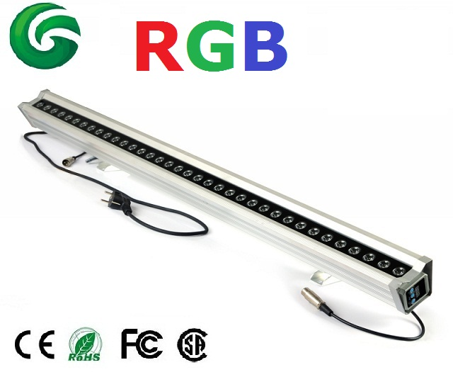 18W,24W,32W,36W DMX rgb led wall washer light