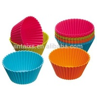 Custom Design Silicon Cake Molds Food Grade Silicon Cup cake Moulds