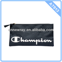 Fashion Style Pencil Pouch With Zipper On Top