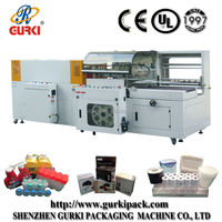 hot sale automatic vertical L bar sealer and shrink wrapping machine(CE)in Shenzhen