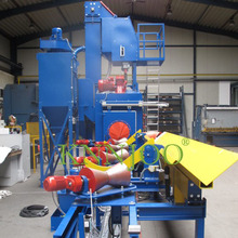 CE Approved Roller Conveyor Type Cylinder Surface Cleaning Shot Blasting Machine/Sand Blasting Machines
