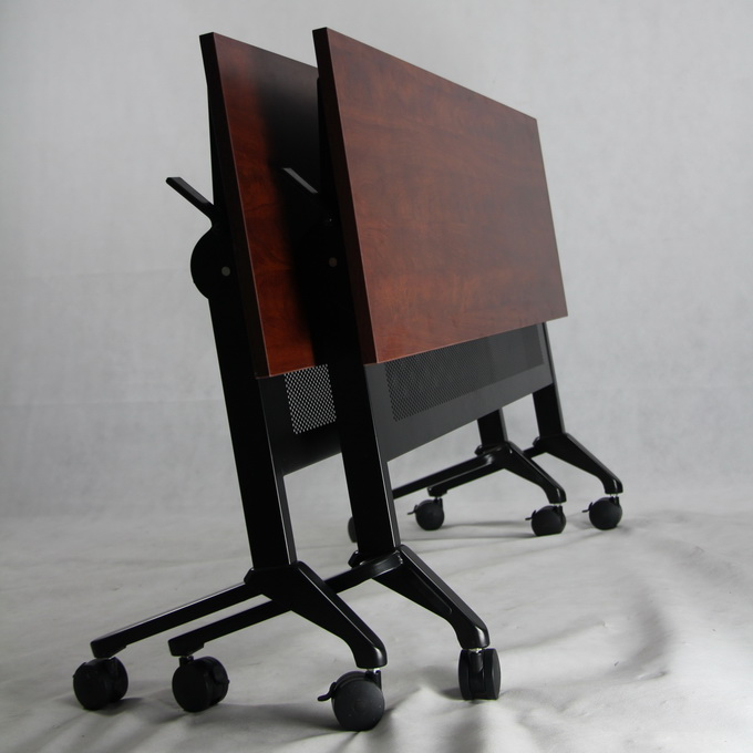 Popular Design Office Metal Frame Flip Top Table Flipper Table