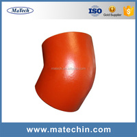 Custom High Precision Ductile Red Tube Cast Iron Sand Casting