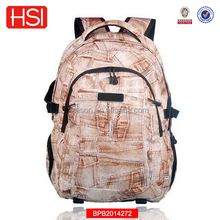 Personality portable custom school bags backpack