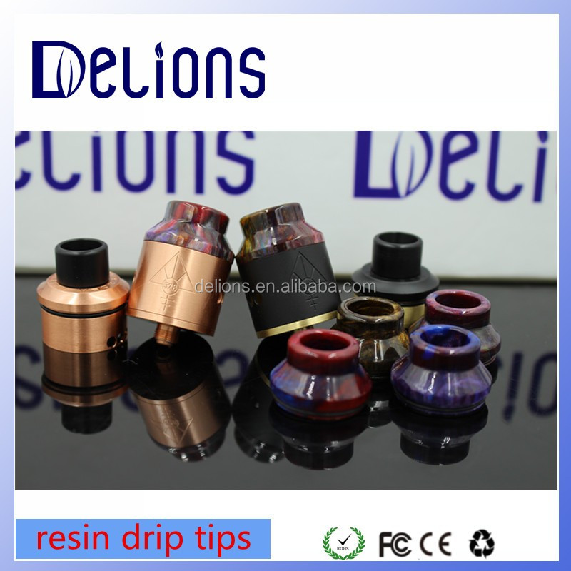 wholesale distributor opportunities import resin drip tips fit 1:1 nice clone high quality 528 goon rda with high quality