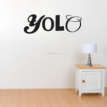 New Fashion Words Design Vinyl Wall Quotes ,wall words,wall saying wall lettering For Bedroom made in China suppiler