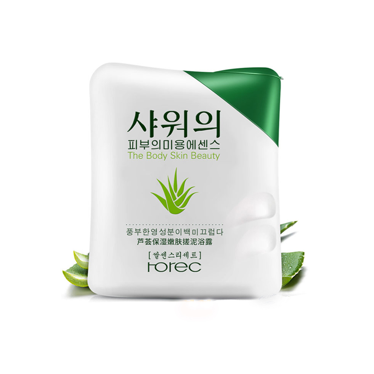 private label bulk aloe vera deep cleansing bath skin whitening shower gel