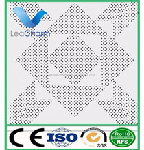 Factory cheap high quality lay-in perforated aluminum false ceiling