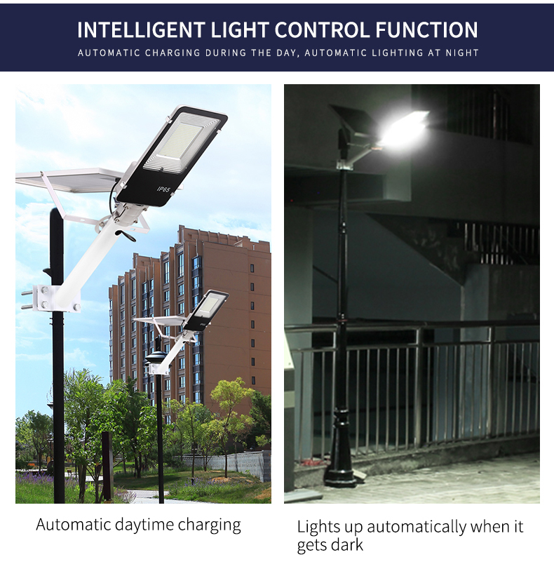 178LED Industry 4.0 IP65 waterproof motion sensor 80w solar garden light SL-621D