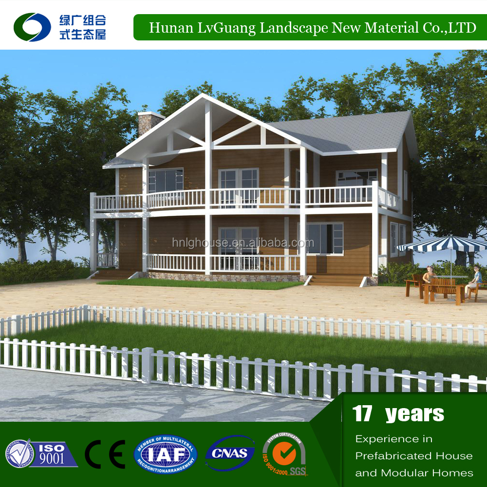 Prefabricated House Quick Built Strong Simple Home Build Kit