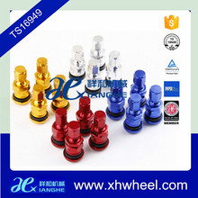Racing Car Forged Colorful Aluminum Valve Stem Caps Wheels Rims Universal Made in China
