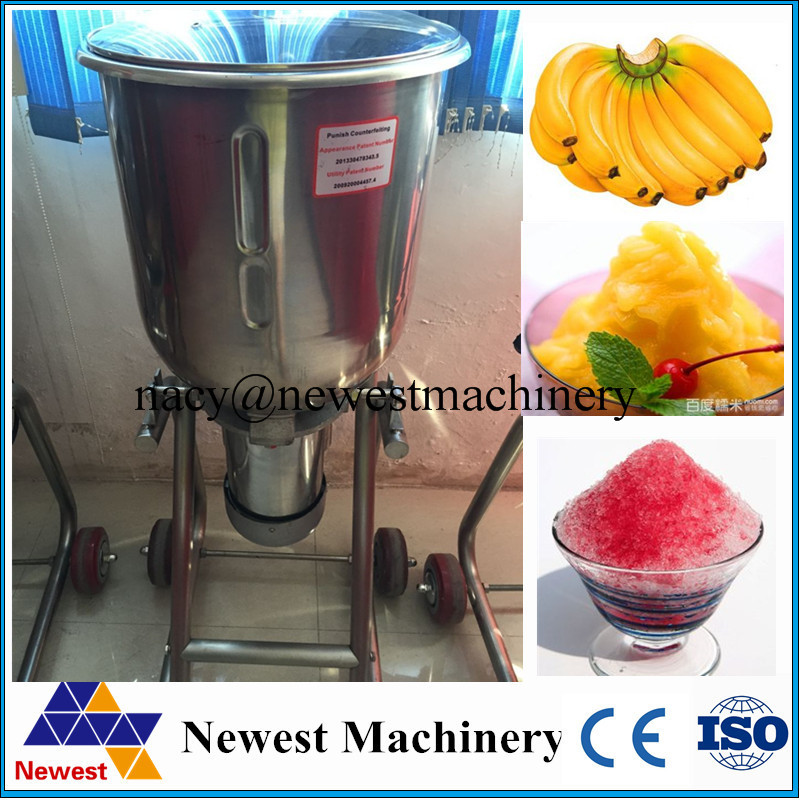 Big model stainless steel smoothie maker,ice crusher making machine,ice crushing machine
