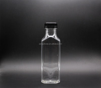 Eco-friendly, Recycling 12 oz French Square Beverage Plastic Bottle