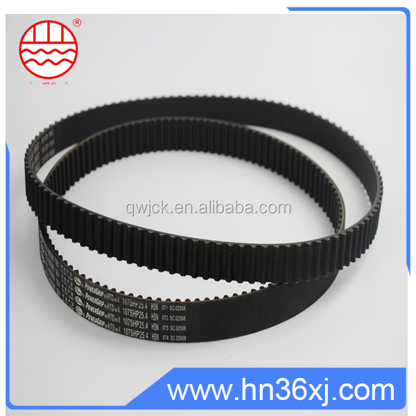 China industrial rubber timing belts