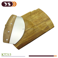 2015 new producton 2pcs micing knife and chopping board set