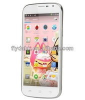 "5"" IPS 960*540 MTK6582 Quad Core 1.3GHz 1G RAM+4G ROM Dual SIM 5MP+13MP camera OTG 3G Android 4.2.2 smart phone DG500C"