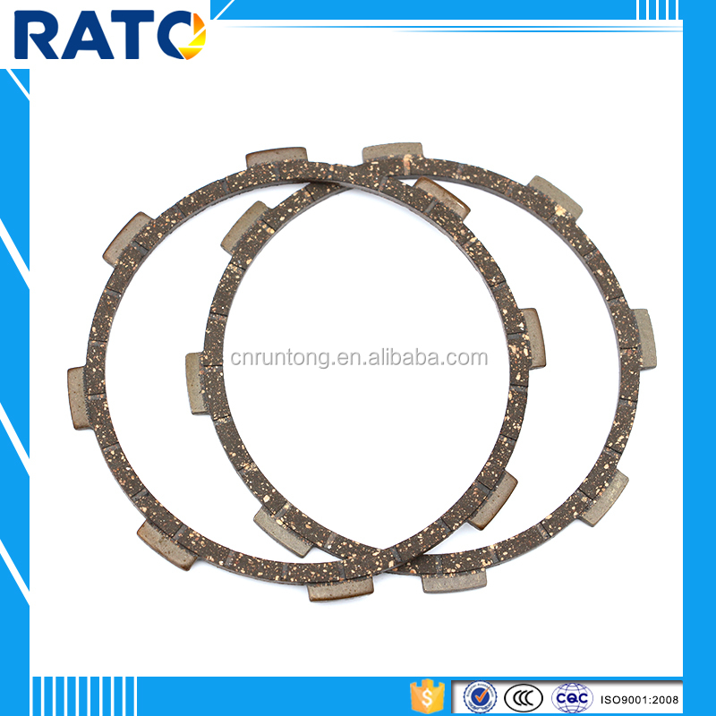 Good performance motorcycle clutch friction plates made in China