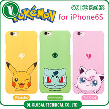 Most selling product in alibaba of water transfer printing cartoon pokemon case for iphone 5s hard matte pc case