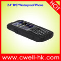 Hot Sale 2.4 Inch UNIWA L28 Dual SIM Rugged IP67 Waterproof Basic Feature Phone
