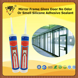 Mirror Frame Glass Door No Odor Or Smell Silicone Adhesive Sealant