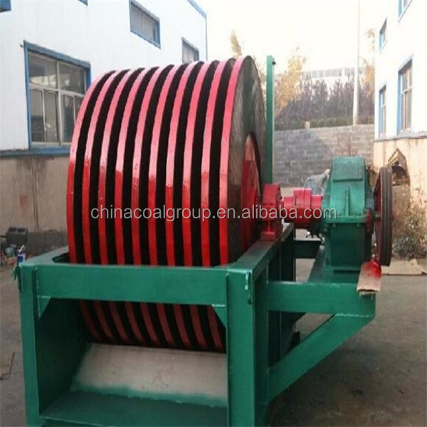 high power automatic tailing recycling machine/ disc magnetic separator
