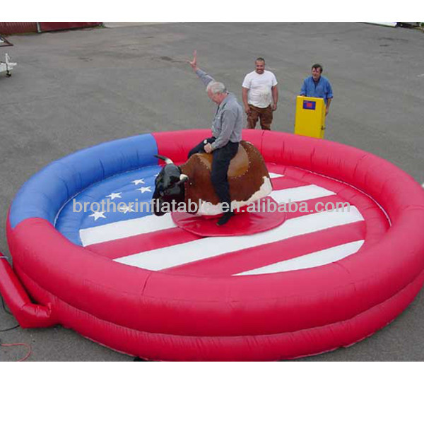 Hot sale inflatable mechanical bull