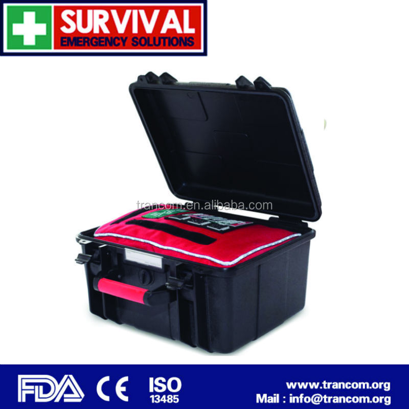 Waterproof Box for first aid kit TR108 BLACK