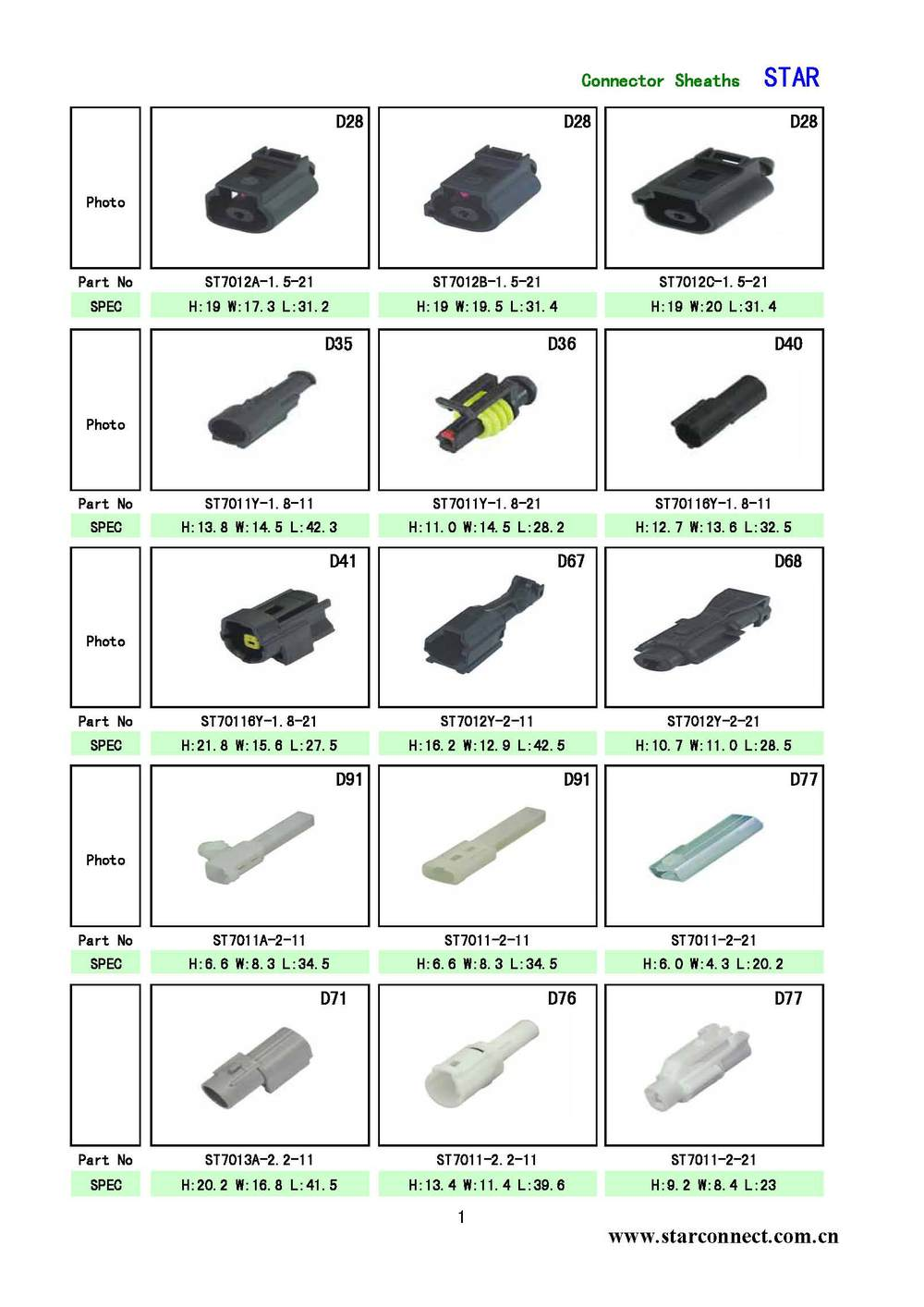 High Quality Of 2 Pin Electrical Male Female Waterproof Automotive Wire Harness Connectors Images Star 01