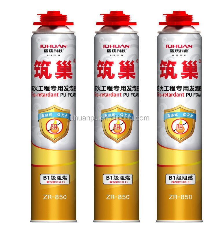 JUHUAN High quality Pu foam sealant polyurethane foam spray for construction joints