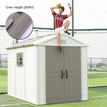 YINGMING brand garden shed plastic/metal shed/prefabricated sheds