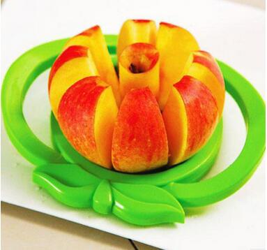 Hot new products for Fruit Apple Shaped Cutter /Stainless Steel Slicer/Fruit Slicer