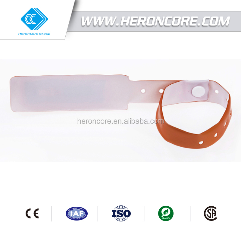 RFID 13.56 MHz 14443A Tag Vinyl Wristband Disposable,Event Rfid Bracelet