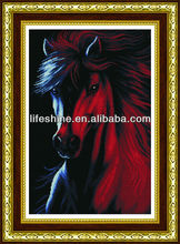 Wall Decorative horse Wall mosaic stone picture