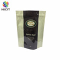 Moisture proof 500g stand up coffee bag with valve / stand up window bag for coffee