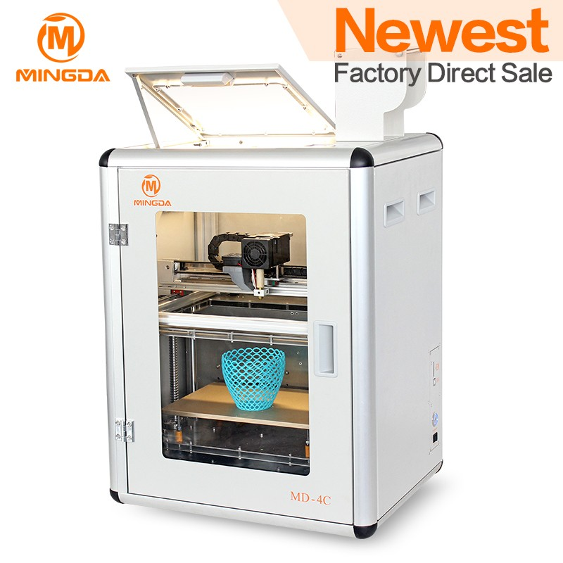 Chinese Suppliers MINGDA 4C build size 300*200*200mm Wholesale Price industrial 3d metal printers