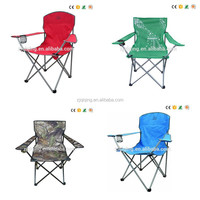 Outdoor furniture adult seat folding reclining beach chair with arms, foldable chair beach/ camping in bright colorHF-22-69
