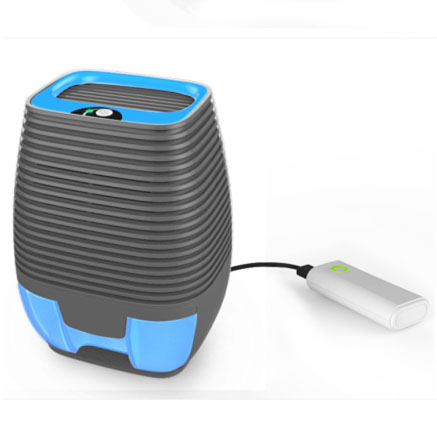 Quiet mini <strong>portable</strong> USB peltier home dehumidifier auto-off when water is full