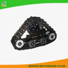 All Terrain Rubber Track Chassis For