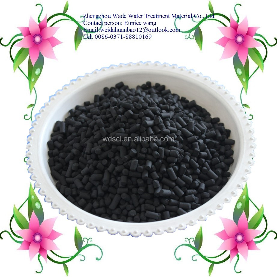 Non-alkali deodorization (refined out of mercaptan)coconut shell based activated carbon