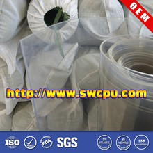 Custom made clear heat resistant plastic for sheet roll