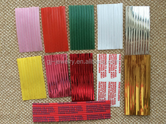 2014 gold/silver/red/green/whtie/pink/yellow color PVC twist tie