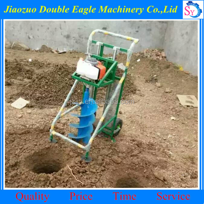 Easy to operate multi-purpose earth auger drill/Large pole digger machine for sale