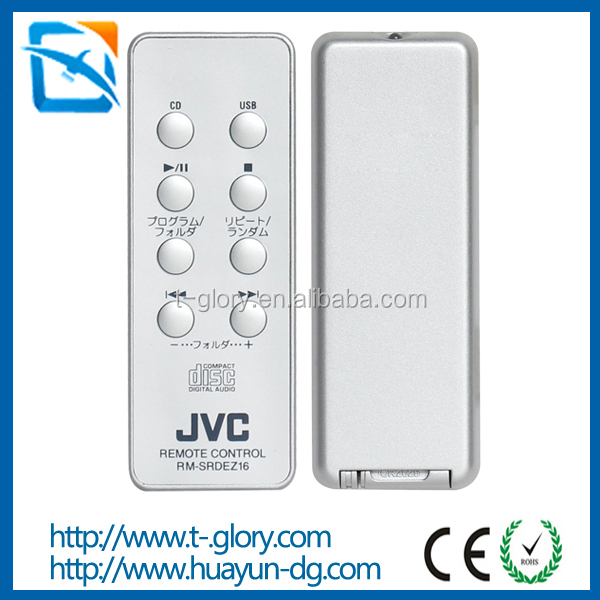 Custom ISDB-T set top box digital cable TV satellite receiver Mini infrared remote controller