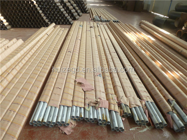 6061/6062/6083 Chinese professional aluminum pipe 250mm