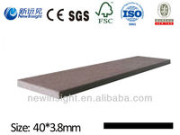 WPC Plank WPC Board with certificate SGS CE FSC ISO Wood Plastic composite Plank for bench, shelf, beam etc