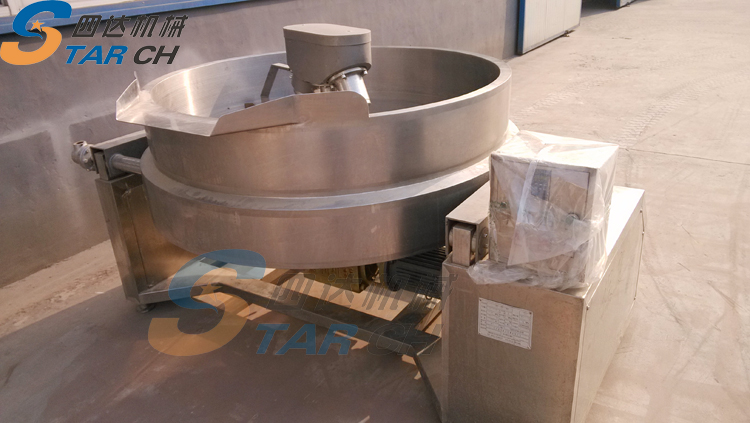 Nigeria gari fryer for garri making machinery on sale
